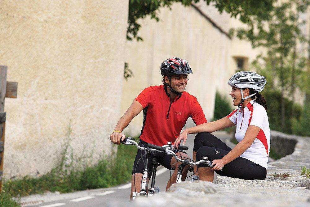 Radeln im Pustertal bis nach Bruneck oder Lienz