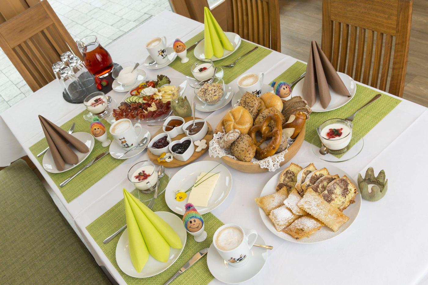 Frühstück am Stoffnerhof